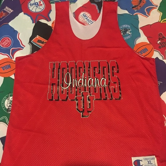 47b809c16cd9f Vintage Champion Indiana Hoosiers practice jersey